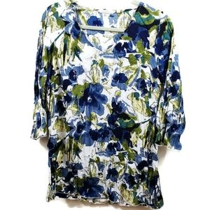 COPY - Soft Surroundings Oversized Floral Tunic